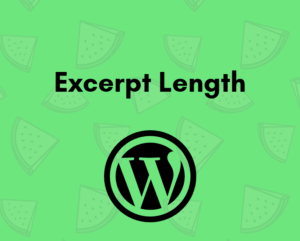 How to change excerpt length in WordPress
