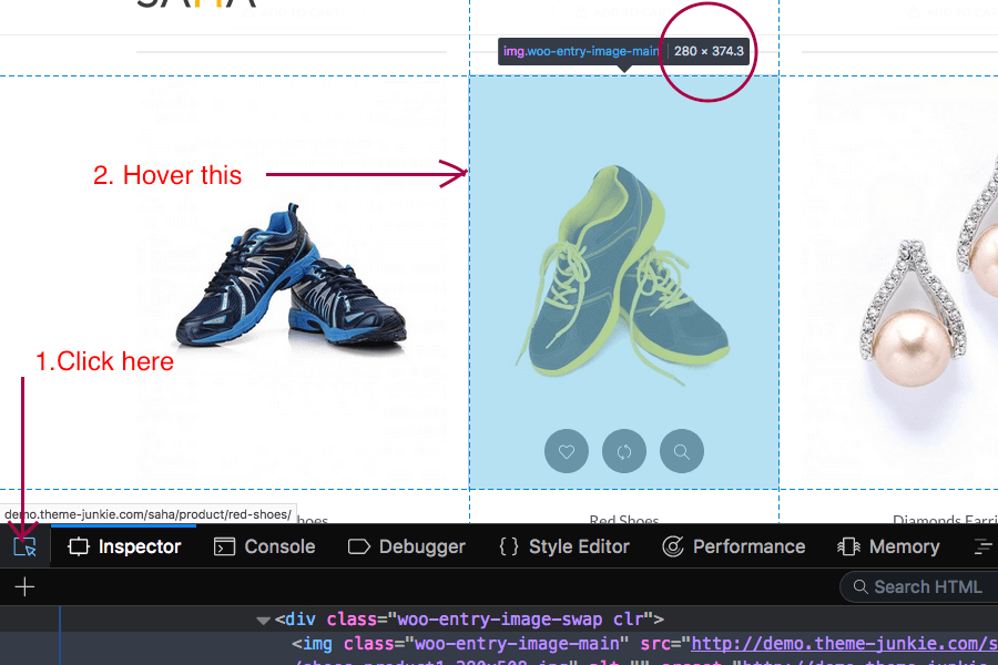 How to set perfect product image sizes in WooCommerce